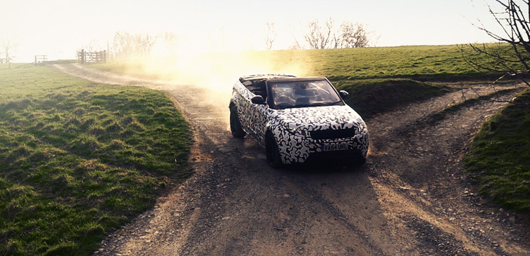 New topless Range Rover Evoque is on its way
