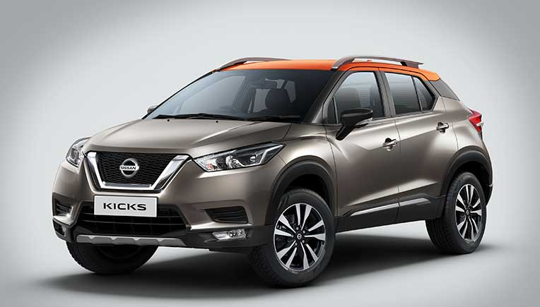 Nissan Kicks in a new SUV in India