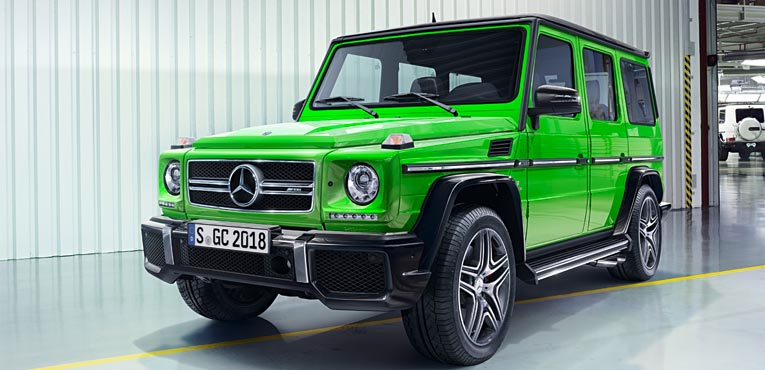Off-road icon, Mercedes-Benz G-Class has a makeover
