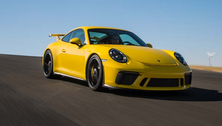 Porsche 911 GT3 launched in India for Rs 2.31 Crore