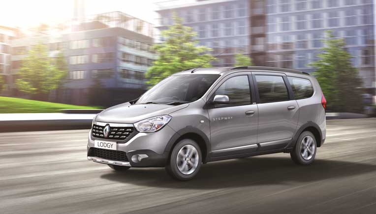 Renault India launches new Lodgy Stepway for Rs 9.43 lakh