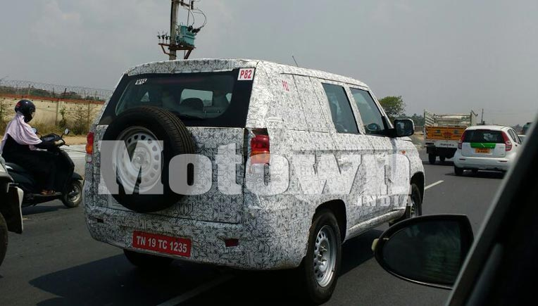 TUV 500 spotted again; launch in mid 2017 likely