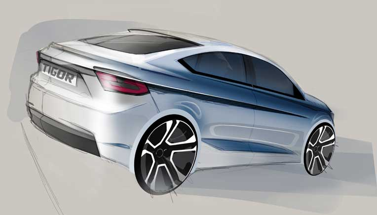 Tata Motors Kite 5 concept is now Tata Tigor