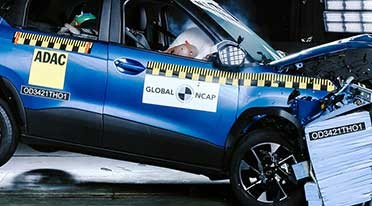 Tata Punch receives a 5-star safety rating from Global NCAP