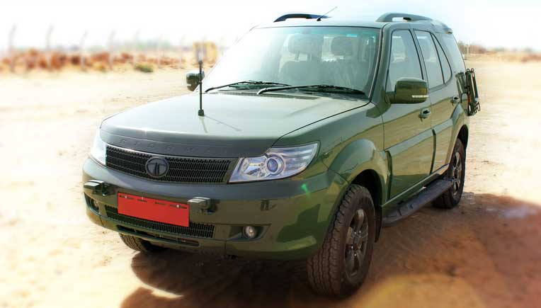 Tata Safari Storme is now an Indian Army vehicle also