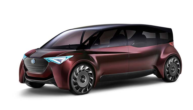 Toyota launches two fuel-cell concept vehicles