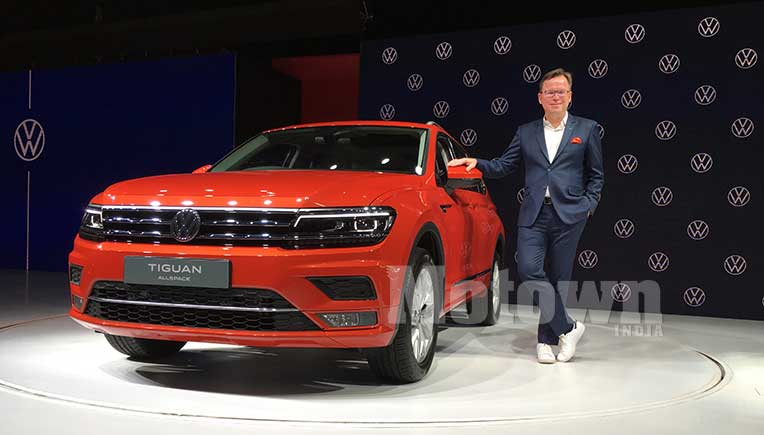 Volkswagen India launches Tiguan Allspace at Rs 33.12 Lakh