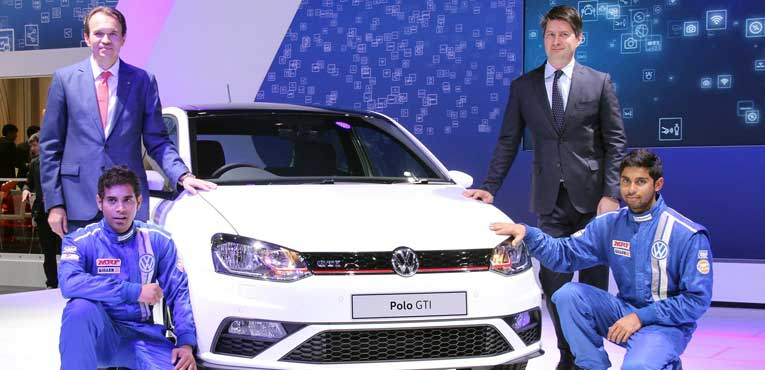Volkswagen unveils India's hottest hatch – Polo GTI