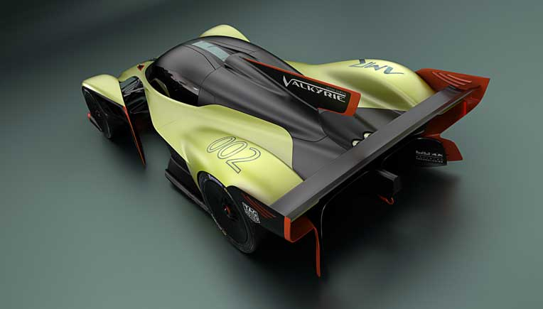 World debut of Aston Martin Valkyrie AMR Pro