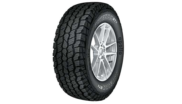 Apollo Tyres Introduces SUV all-terrain tyres, Apollo Apterra AT2