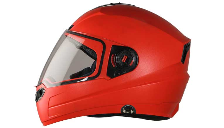 Attend calls and listen to music wearing Steelbird SBA-1 HF helmet