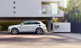 Bentley collaborates with Philippe Starck for recharging unit