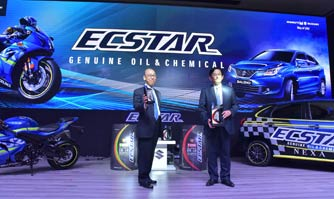 Ecstar engine oil launched exclusively for Suzuki vehicles