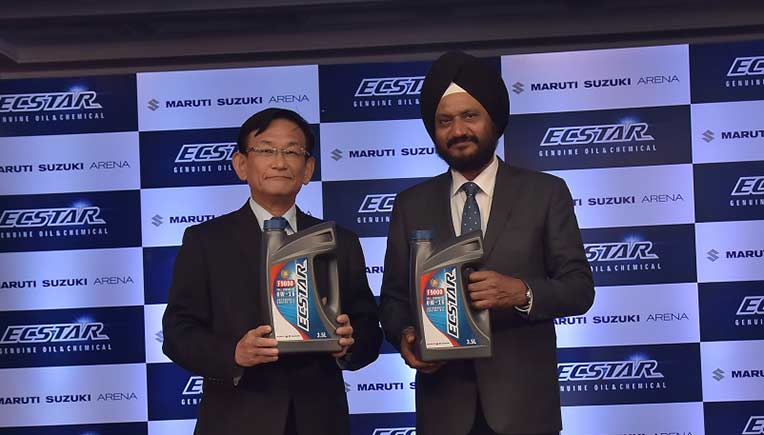 Global oil brand Ecstar now at Maruti Suzuki Arena network