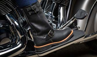 Indian Motorcycle, Red Wing Shoes come with branded shoes