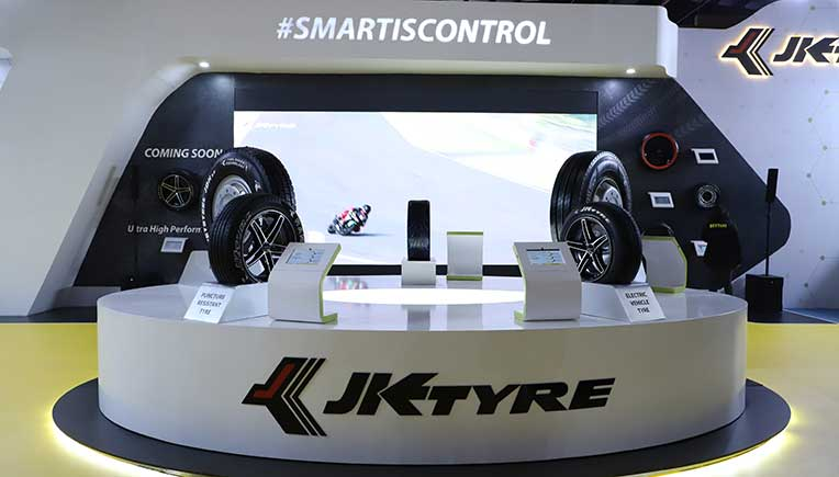 JK Tyre launches revolutionary 'Smart Tyre'