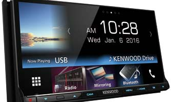 Kenwood's world class Car infotainment system now in India
