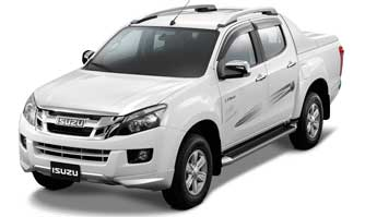 Jonty Rhodes Limited accessories packages for Isuzu D-Max V-Cross