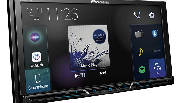 Pioneer India introduces high-end car infotainment system at Rs 24,490
