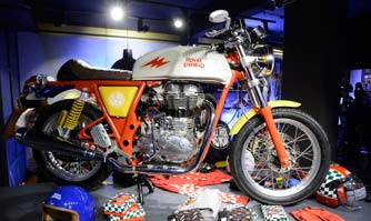 Royal Enfield and Happy Socks create limited edition accessories