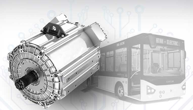 IAA COMMERCIAL VEHICLES 2018: Karsan midibus features Dana TN4 electric motor and inverter