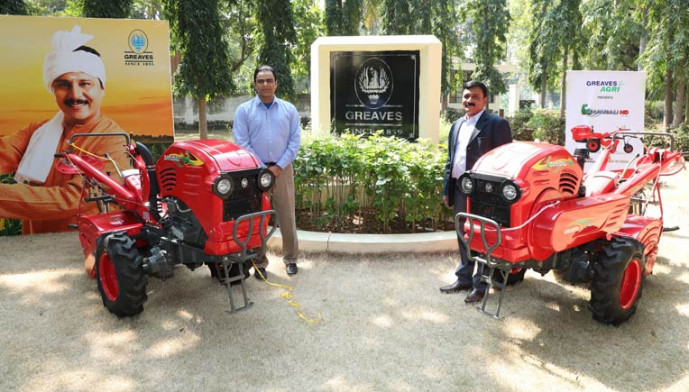 L-R: Nagesh Basavanhalli, MD & CEO and M.Mohanan, President-Farm Equipment Business, Greaves Cotton Limited
