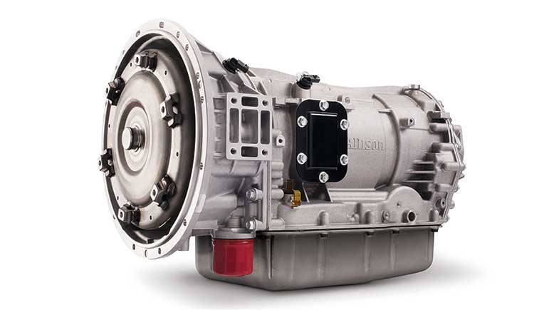Allison Transmission global launch of 9-speed transmission