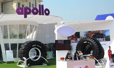 Apollo Tyres launches India's largest loader tyre
