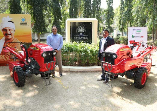 "Greaves Cotton launches new farm equipment ""The Bahubali"""