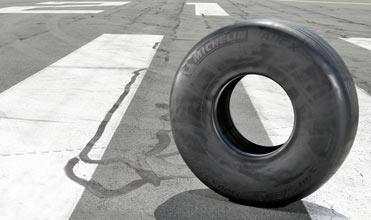 Michelin Radial NZG Technology tyres for Qatar Airways plane