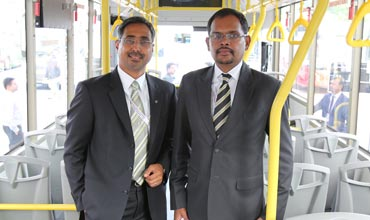 Interview with Akash Passey & Suresh Chettiar of Volvo Bus