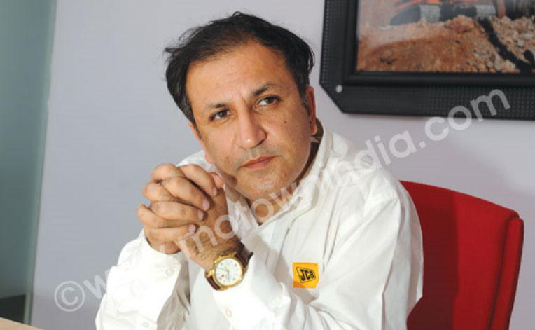 Interview with Amit Gossain, Vice President—Marketing and Business Development, JCB India Ltd.