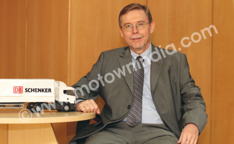 Interview with Reiner A. Allgeier, Managing Director, Schenker India Private Limited
