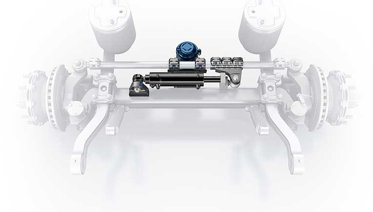 New electro-hydraulic auxiliary steering system Active Reverse Control from BPW