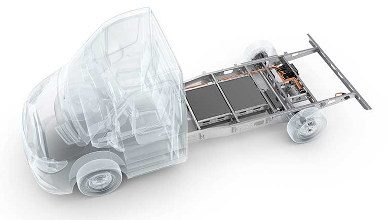 AL-KO Hybrid Power Chassis_Chassis: The AL-KO Hybrid Power Chassis is based on the variable AL-KO lightweight chassis