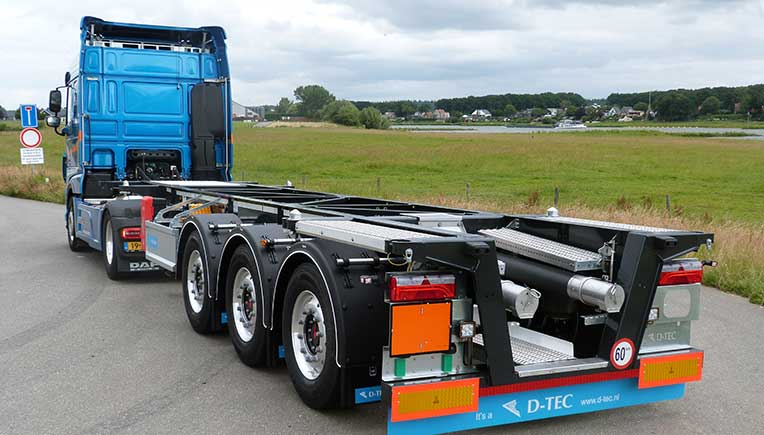 New D-TEC Container Chassis to be unveiled