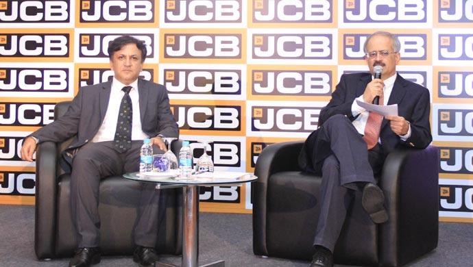 Amit Gossain, Executive VP - Sales, Marketing, Business Development & Vipin Sondhi, MD & CEO, JCB India Ltd.