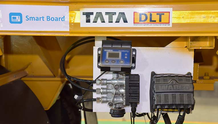 Tata International DLT launches India's first intelligent trailer