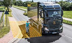 Continental launches turn assist system for commercial vehicles