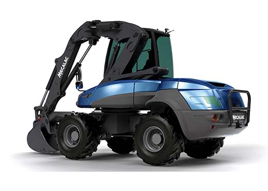 Dana to provide e-drivetrain for Mecalac electric compact wheeled excavator