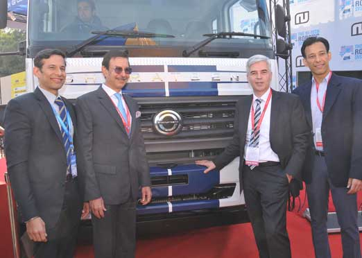 Hi-Tech Robotic Systemz provides technology-Novus Aware to Daimler India CV