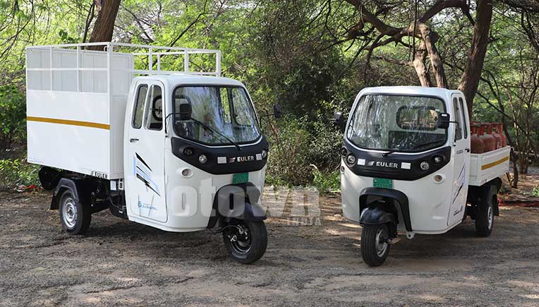 Euler Motors launches electric 3W cargo at Rs 3.50 lakh onward