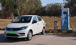 Commercial launch of Tata Motors XPRES T EV for fleet customers