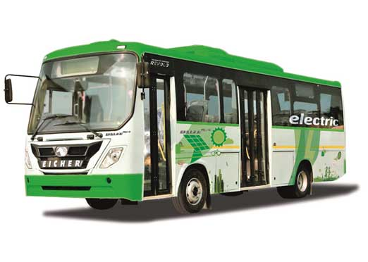Eicher Trucks & Buses introduces zero emissions smart electric buses
