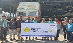 Eicher Trucks & Buses observes national road safety month
