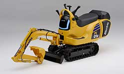 Honda, Komatsu to develop micro excavators powered by swappable batteries