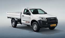 Isuzu D-Max Regular Cab and S-Cab Commercial Pick-up range prices hiked