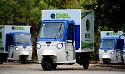 Mahindra Logistics launches EDel- Electric Last-Mile Delivery Service