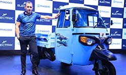 Piaggio launches Ape' Electrik FX range of electric cargo & passenger vehicles