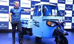 Piaggio launches Ape' Electrik FX range of electric cargo & passenger vehicles